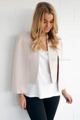 Camilla Cape in Beige - Esther Boutique