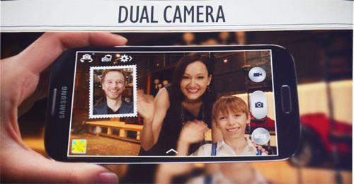 Samsung - Galaxy S4 - dual camera