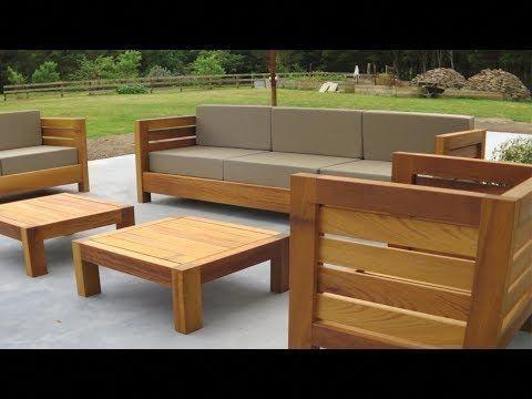 a785e6b49e3 how to make an Outdoor Sofa - YouTube  outdoorchairs