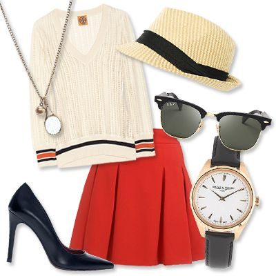 What to Wear to the US Open Tennis Tournament - Go Sporty Chic for a Night Match