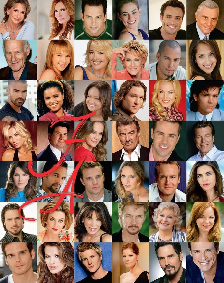 The Young And The Restless Great Stars http://pinterest.com/nfordzho/soaps/