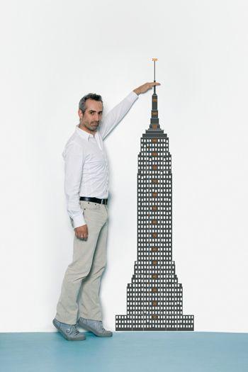 Empire State Wall Sticker