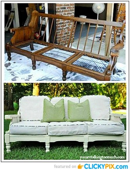 20 Before And After Furniture Makeovers Before And After