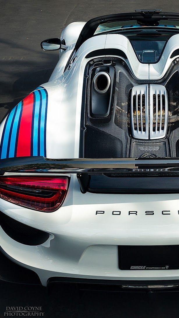 displaying martini porsche 918 - Porsche 918 Exterior