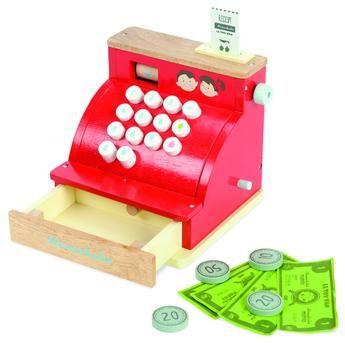 Le Toy Van Cash Register with money