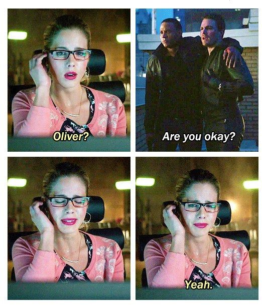 Arrow season 1 - Oliver & Felicity