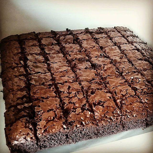 Resepi Brownies Original Fudgy Brownies Fudge Brownies Kue Cokelat