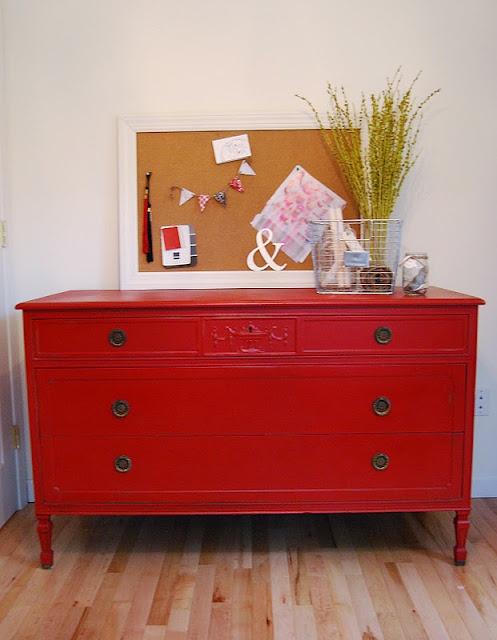 Annie Sloan Emperor Silk Red Chalk Paint Furniture