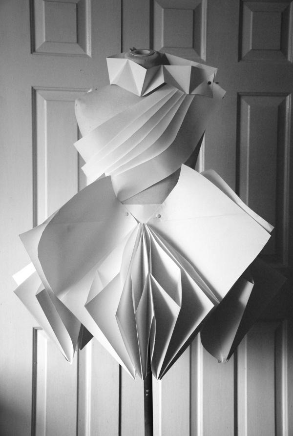 Mathematics of paper folding