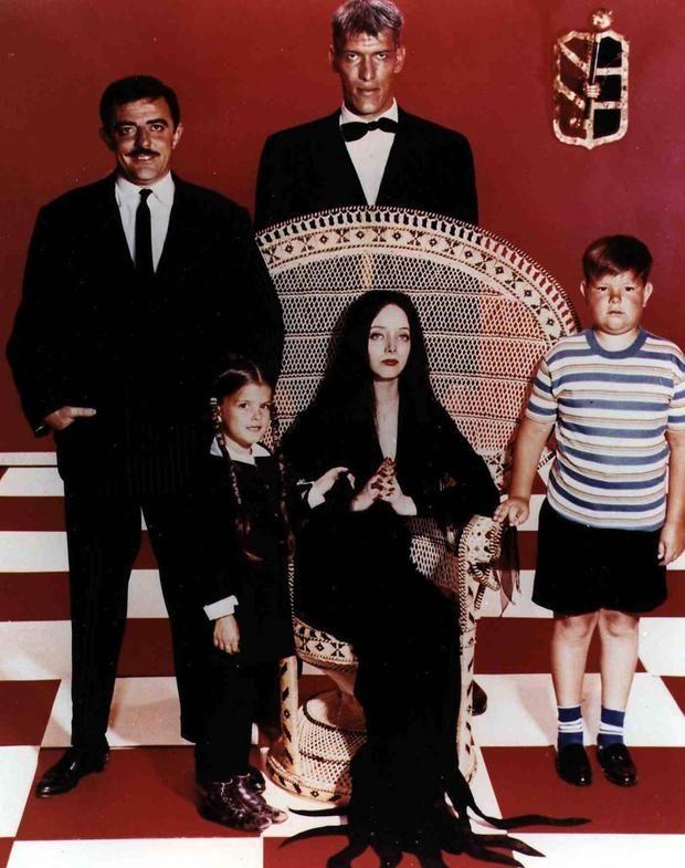 "John Astin Addams Family | The Addams Family"" 1966: John Astin, Ted Cassidy, Ken Weaterwax ..."