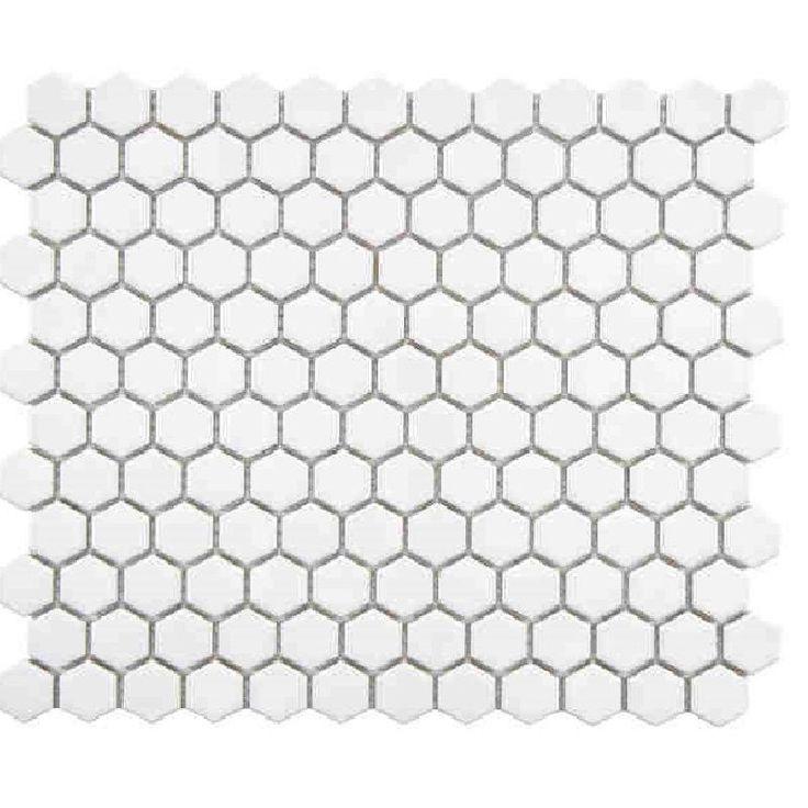 Die besten 25+ White hexagonal tile Ideen auf Pinterest - deko ideen hexagon wabenmuster modern