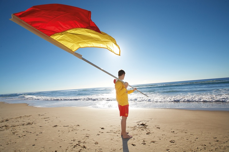 """If you are heading to the beach this Australia Day, say """"G'day and thanks mate"""" to the volunteer Surf Life Savers. They do an awesome job keeping us safe!"""