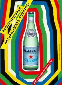 Colored advertising by San Pellegrino #advertising