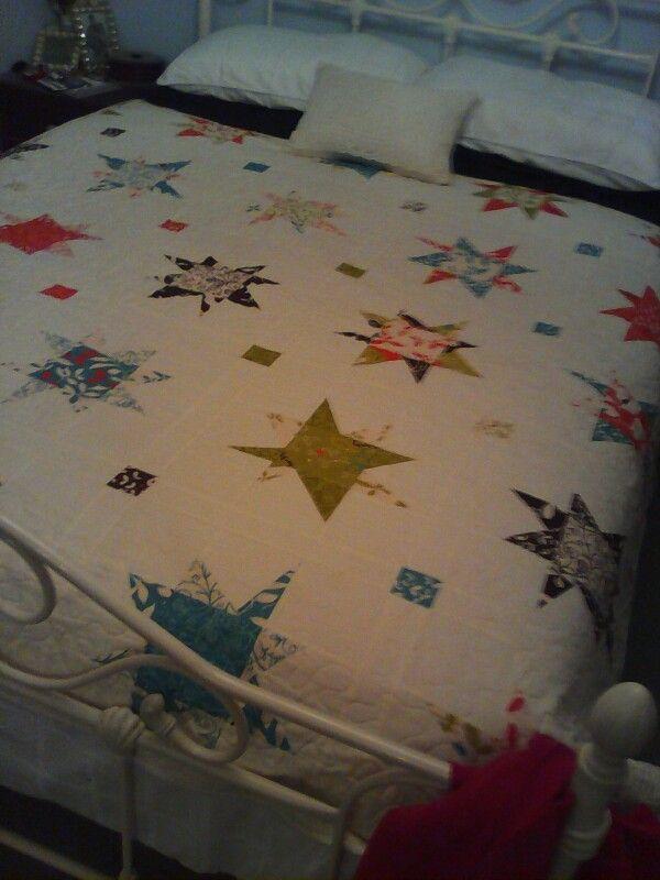 #Wonkey #star #quilt.