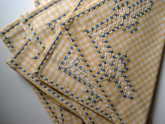 Images about emb gingham embroidery on pinterest