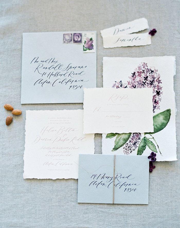 Lilac Wedding Flower Inspiration - #lavenderinspiration #lilacweddingflowers #lilacweddingideas