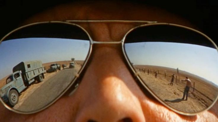 Boss Godfrey (Morgan Woodward), 'the man with no eyes', in Cool Hand Luke (1967)