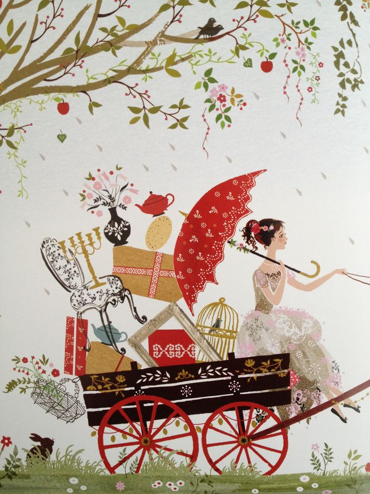 Sarah Gibb illustration for 'The Princess Who Had No Kingdom' book by Ursula Jones