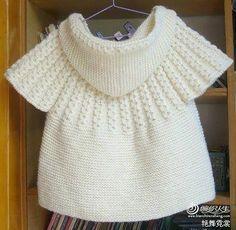 sweter blanco con capucha