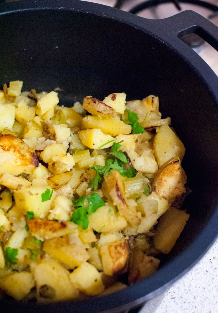 This #delicious potato and celery #stirfry is perfect if you fancy eating a simple dinner !