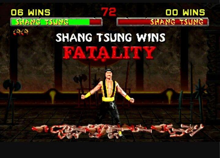 mortal kombat 2 shang tsung