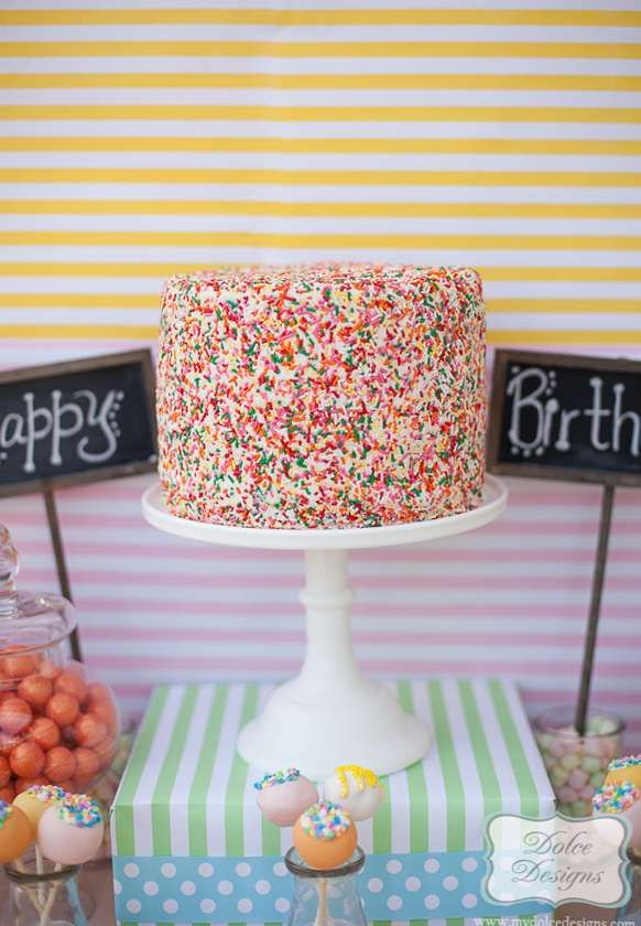 Rainbows & Colors Birthday Party Ideas | Photo 4 of 48 | Catch My Party
