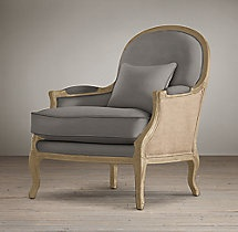 Lyon Chair With Burlap Chairs Restoration Hardware Products I Love Pi