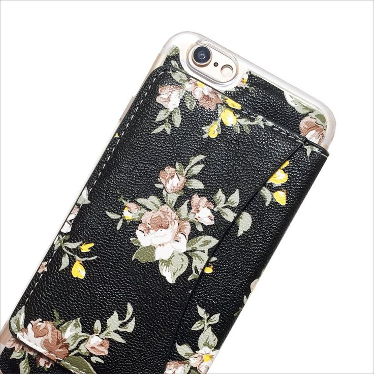 Floral Wallet Phone Case