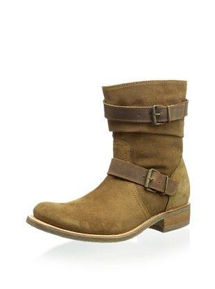 50% OFF Sendra Women's City Double Buckle Flat Boot (Camel)