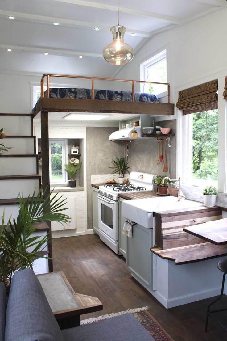 Tiny house chefs' kitchen. Need.