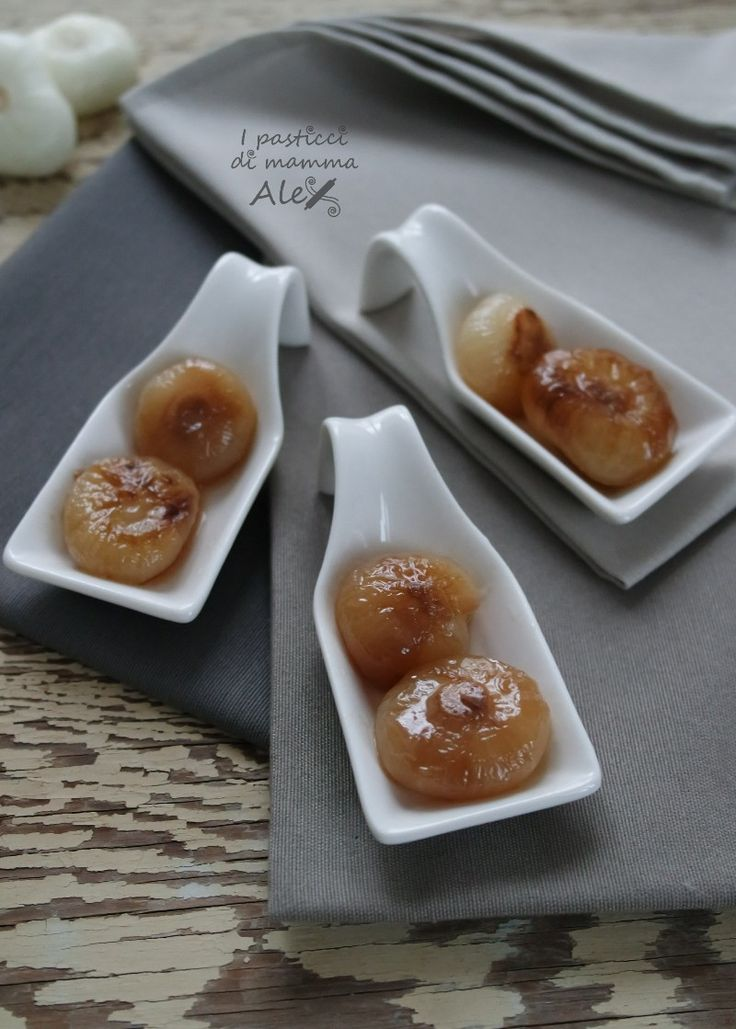 Cipolline caramellate in agrodolce | I pasticci di mamma Alex