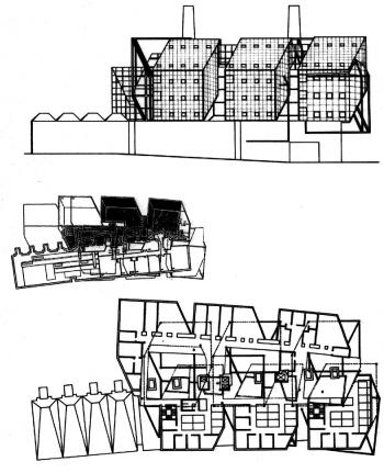Eisenman - Carnegie Mellon Research Center - Drawings