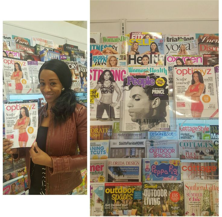 """Stopped into Supercentre quickly on my way to church and look what I finally saw, my Optimyz Magazine Cover. This is my first time actually seeing it on shelves. I shared a small part of my testimony at church today about my journey. So I'm just feeling very grateful and blessed. Get your copy now on Newstands & GNC stores. """"Philip 4 vs 13"""""""