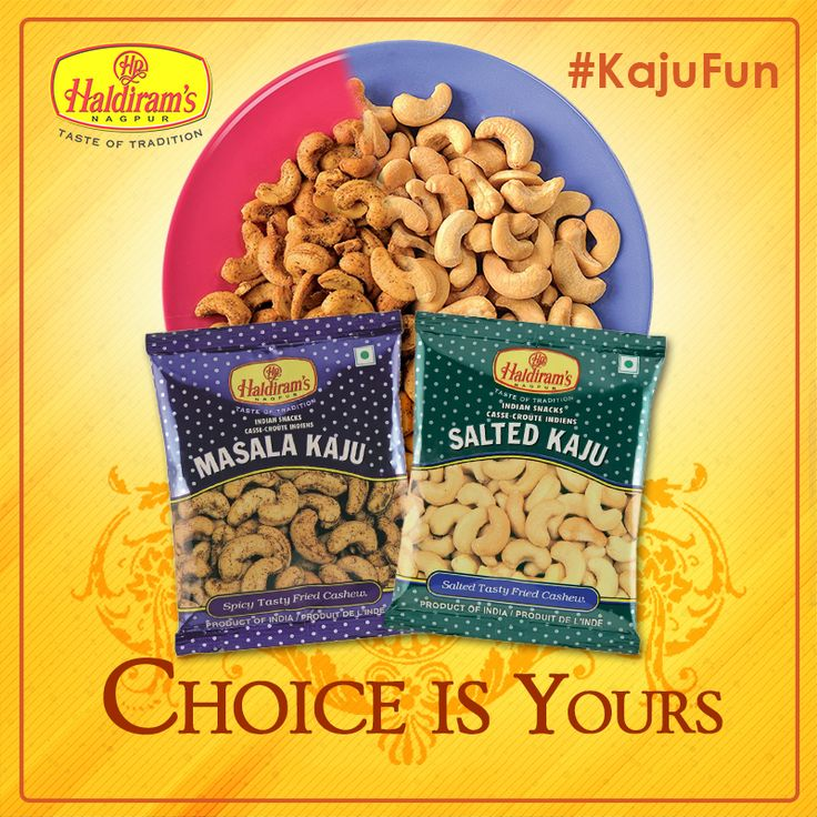 #KajuFun with #Haldirams