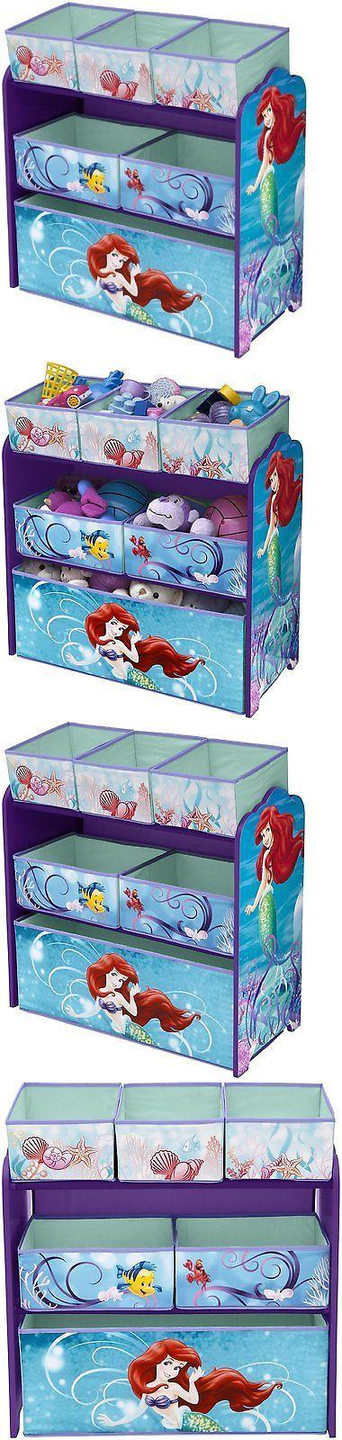 Toy Boxes 94932: Disney Little Mermaid Multi-Bin Toy Organizer -> BUY IT NOW ONLY: $40.19 on eBay!