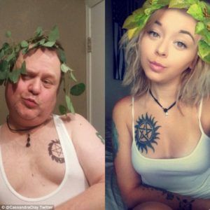 Dad Hilariously Re-Creates Daughter's Sexy Selfies