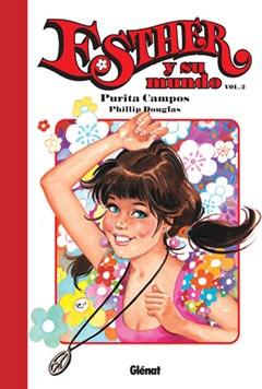"""""""Esther y su mundo"""", volumen 2, de Purita Campos y Phillip Douglas. Editado por Glénat."""