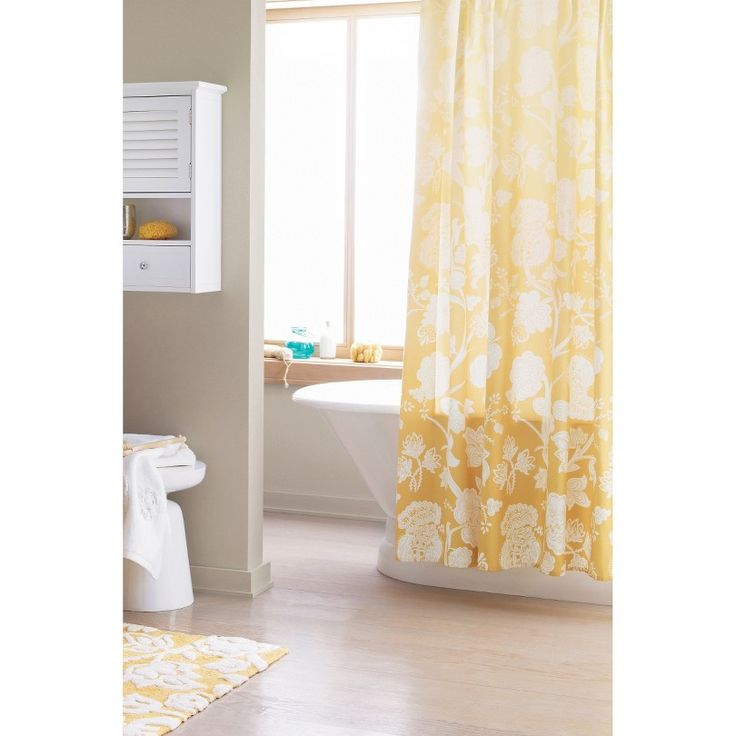 1000 ideas about floral shower curtains on pinterest for Bathroom ideas target