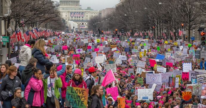 In response to hostile videos by gun lobby group, progressive activists announce march in nation's capitol for next week