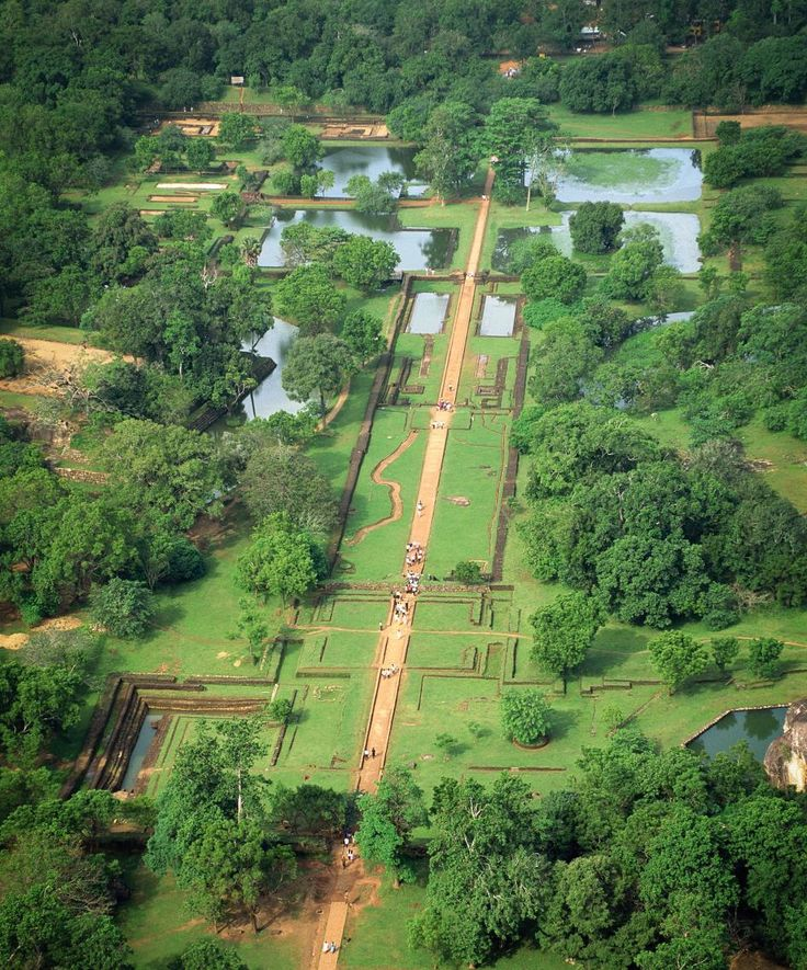The 'Lion Fortress' of Sri Lanka was swallowed by the