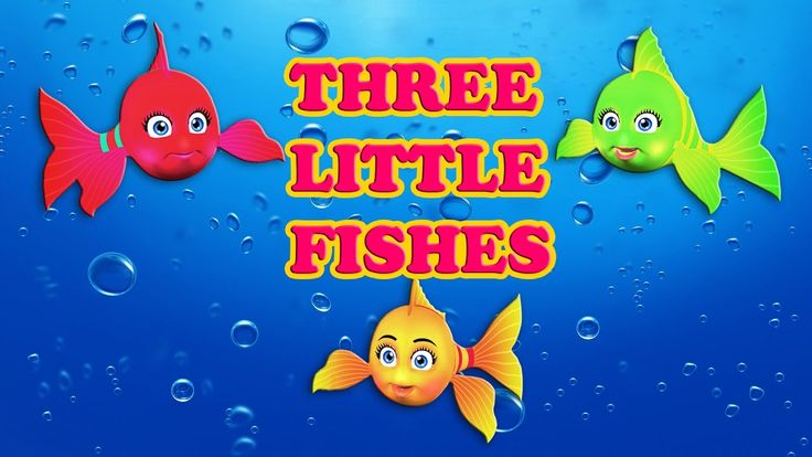 Three Little Fishes | Nursery Rhymes Video Songs with Lyrics for Kids