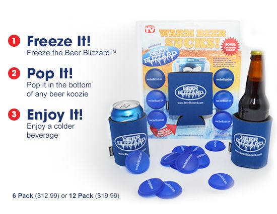 Beer Blizzard - As Seen On Shark Tank