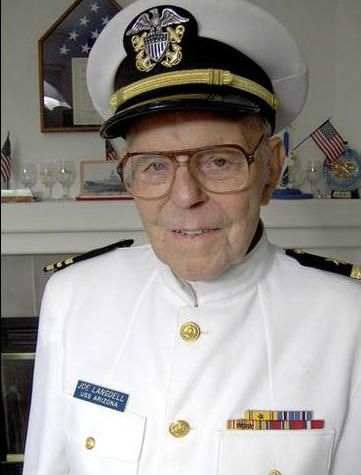 RIP, sir. (sniffle) He was there when the Japanese bombed Pearl Harbor on Dec. 7, 1941, and his ashes will likely be placed inside the memorial honoring the hundreds of shipmates whose deaths he witnessed that fateful morning.    Joseph Langdell, the last known surviving officer of the USS Arizona,...