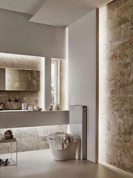 Best 20 modern bathrooms ideas on pinterest modern - Contemporary half bathroom ideas ...