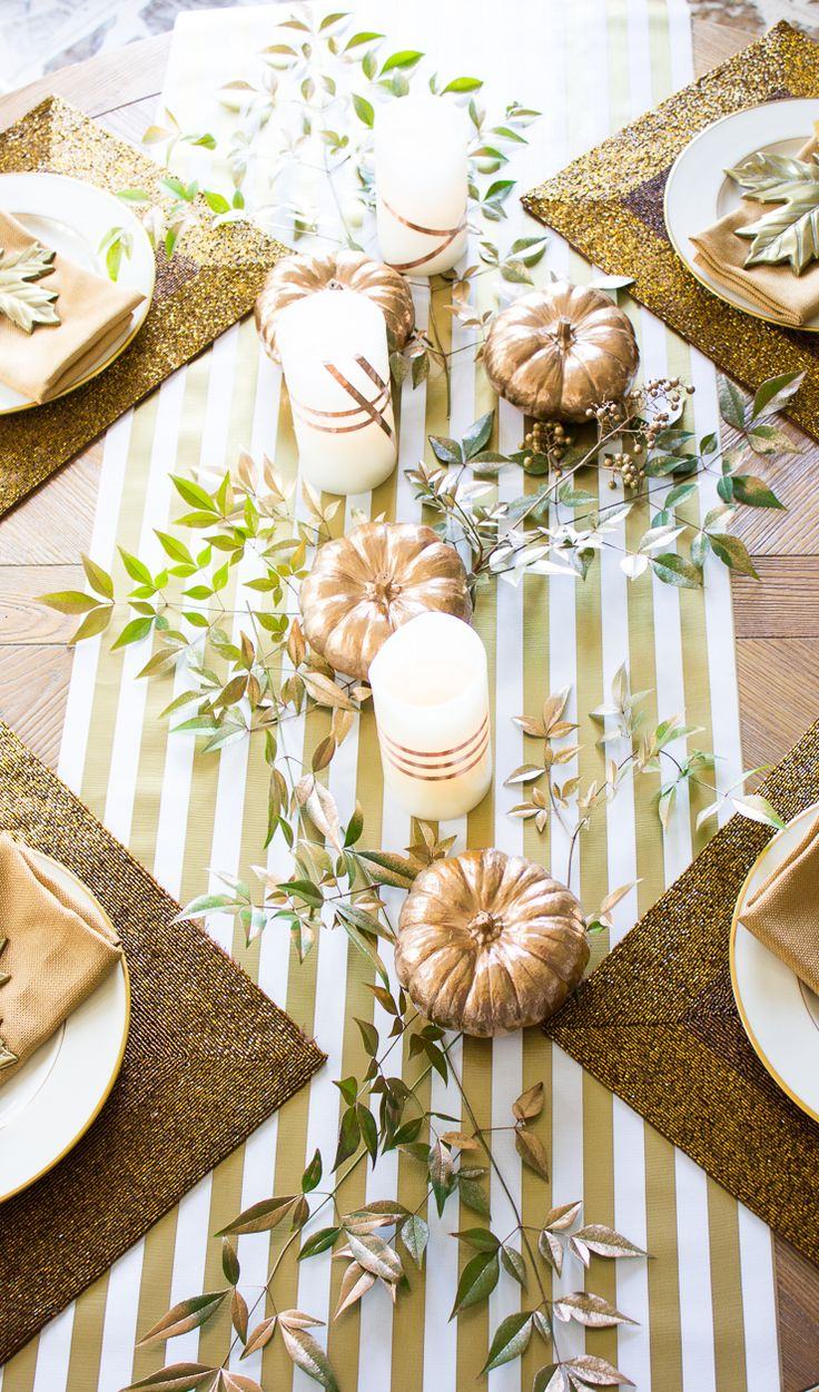 619 best TABLESCAPES images on Pinterest | Thanksgiving dinnerware ...