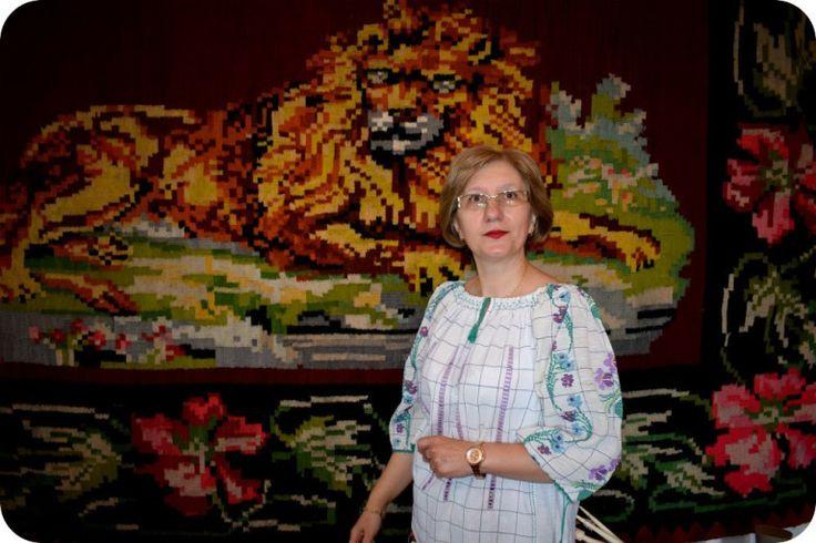 Anca Dumitrescu si Covorul Oltenesc la #EUinmyRegion - Blog Contest