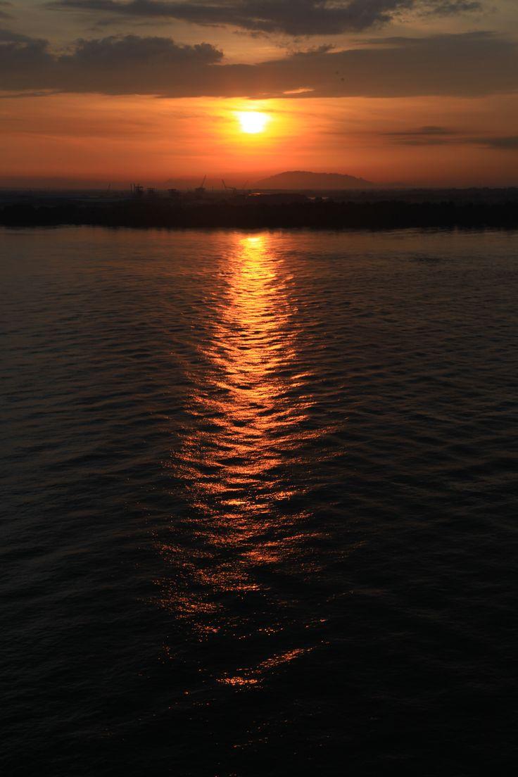 Sunrise at Port Klang - Cruise Centre