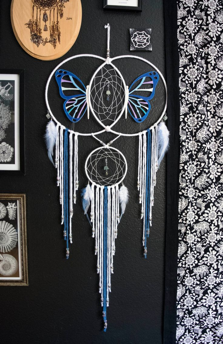 Butterfly Expansion Dream Catcher by Aurvgon on Etsy