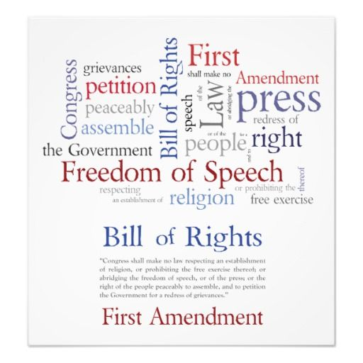 first amendment and the freedom of The first amendment to the us constitution is what guarantees the freedom of the press in the united states here it is: congress shall make no law respecting an establishment of religion, or prohibiting the free exercise thereof or abridging the freedom of speech, or of the press or the right .