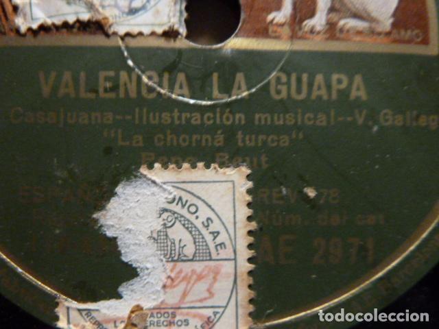 PEPE BEUT -VALENCIA LA GUAPA -EL PARDALOT DE SAN CHUAN - (Música - Discos - Pizarra - Flamenco, Canción española y Cuplé)